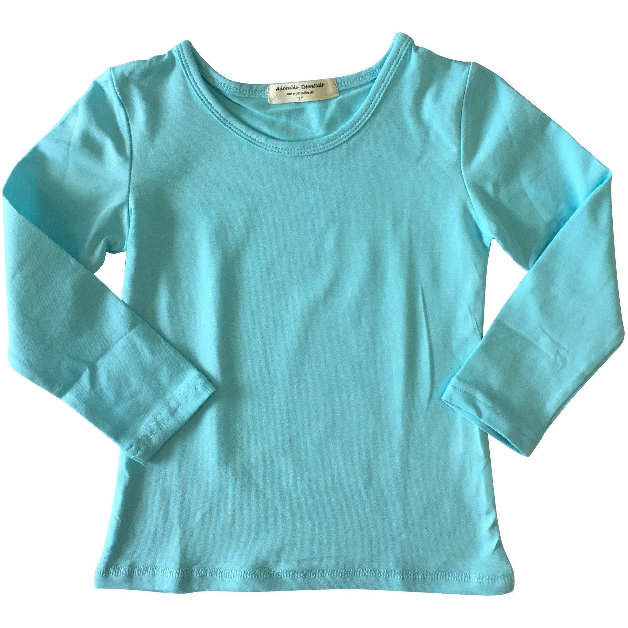 Adorable Essentials, Baby Simple Shirts,Baby Tops,Adorable Essentials, LLC