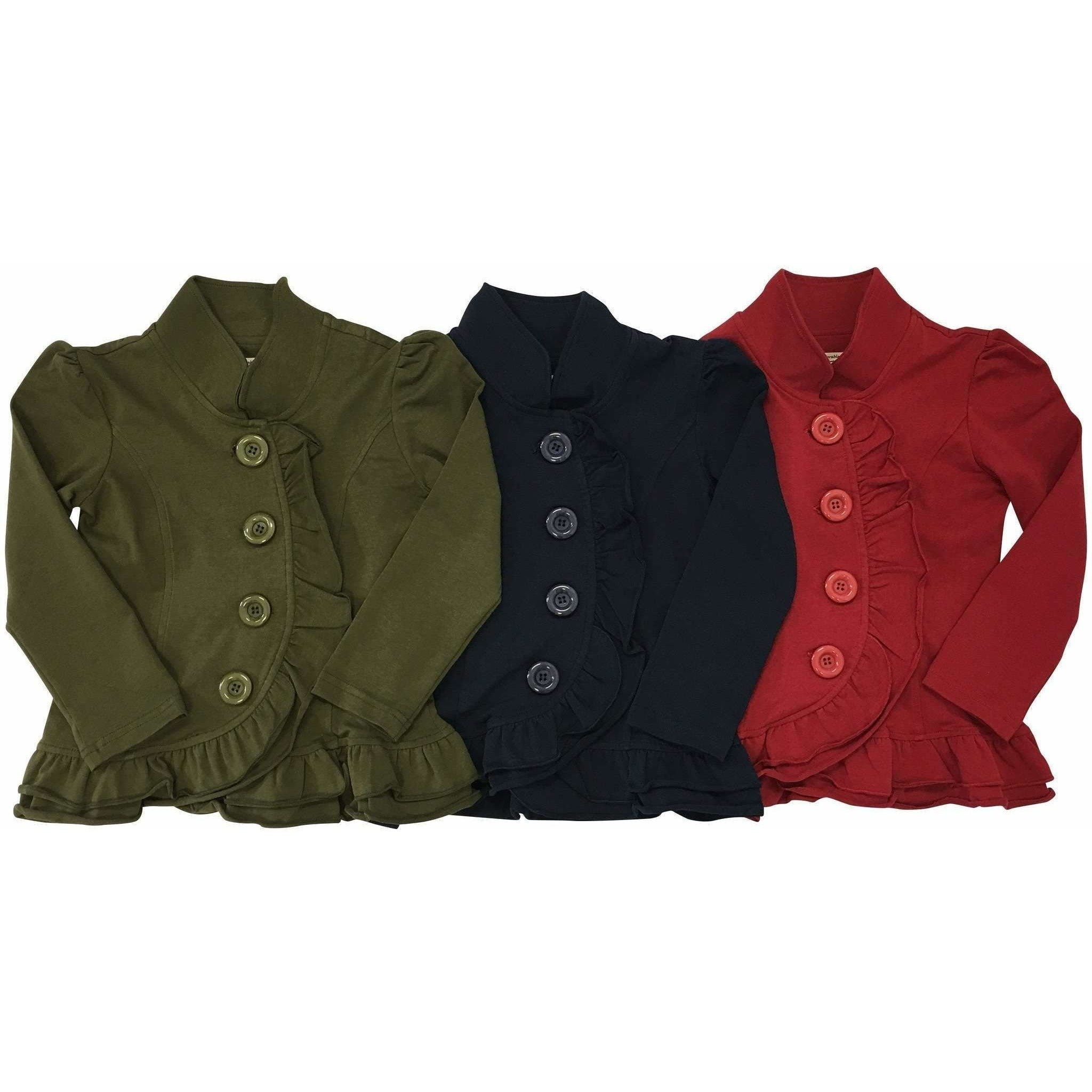 Big Button Cardigans - Adorable Essentials
