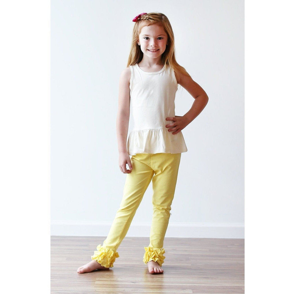 Adorable Essentials, Girls Ruffled Icing Pants,Bottoms,Adorable Essentials,Adorable Essentials, LLC