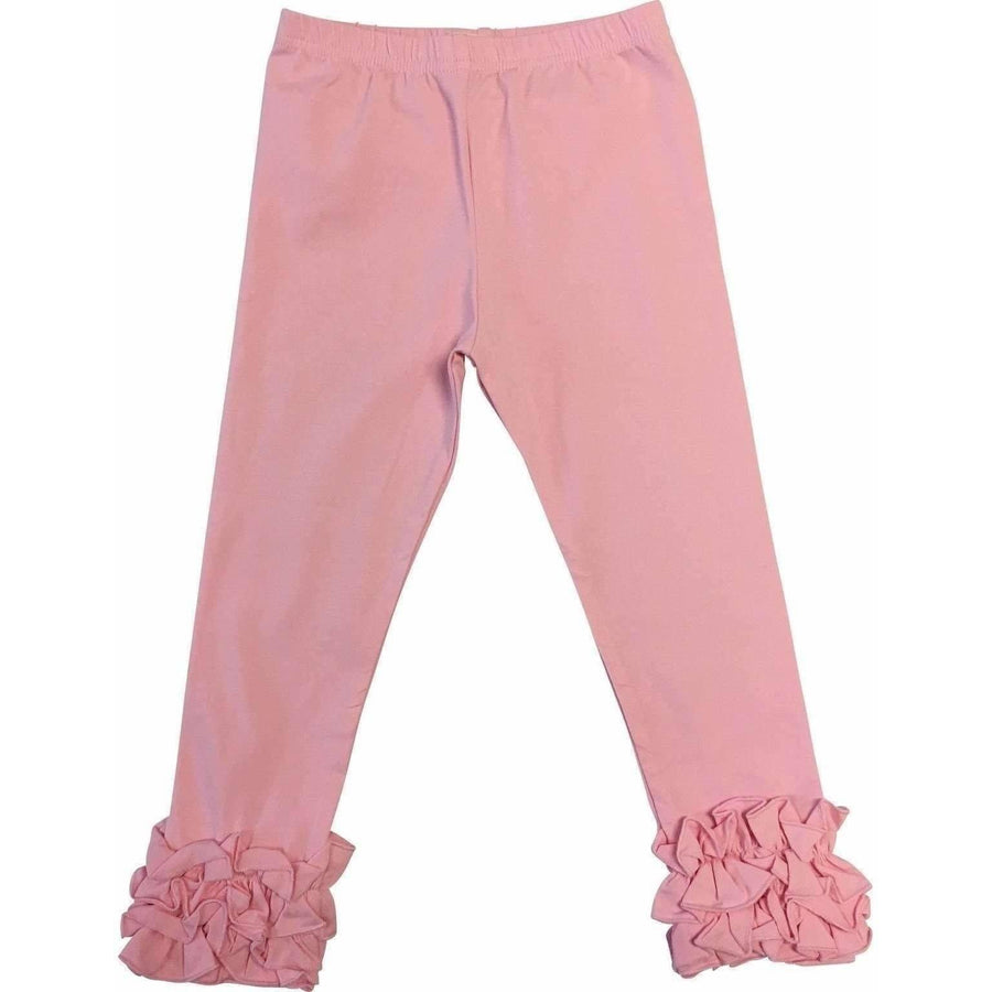 Adorable Essentials, Girls Ruffled Icing Pants,Bottoms,Adorable Essentials, LLC