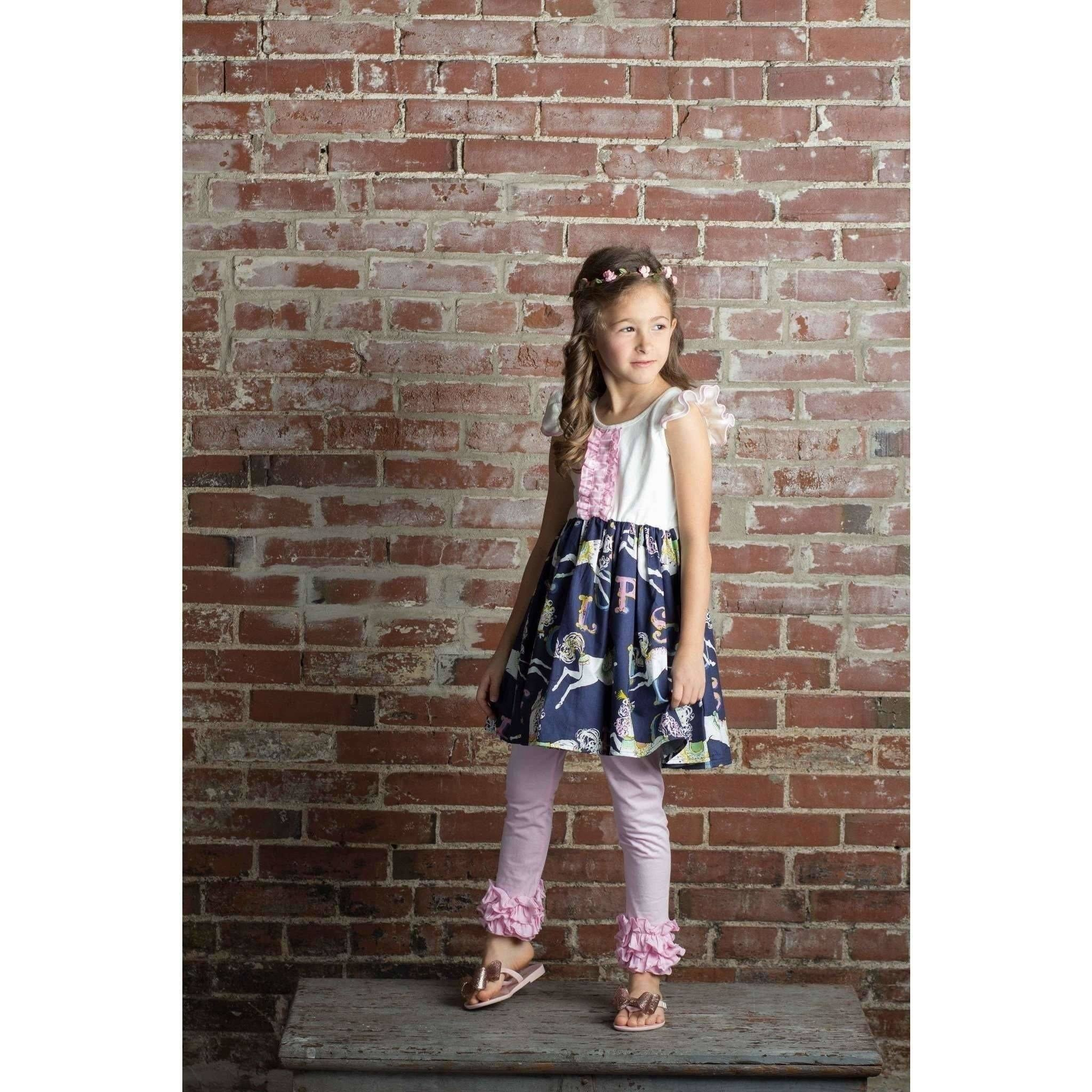 Girls Ruffled Icing Pants - Adorable Essentials