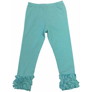 Girls Ruffled Icing Pants - Adorable Essentials, LLC