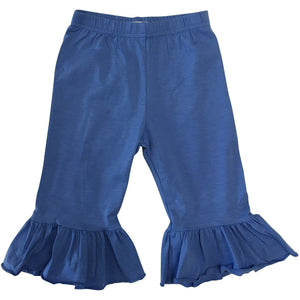 Girls Single Ruffle Pants - Several Colors - Adorable Essentials, LLC