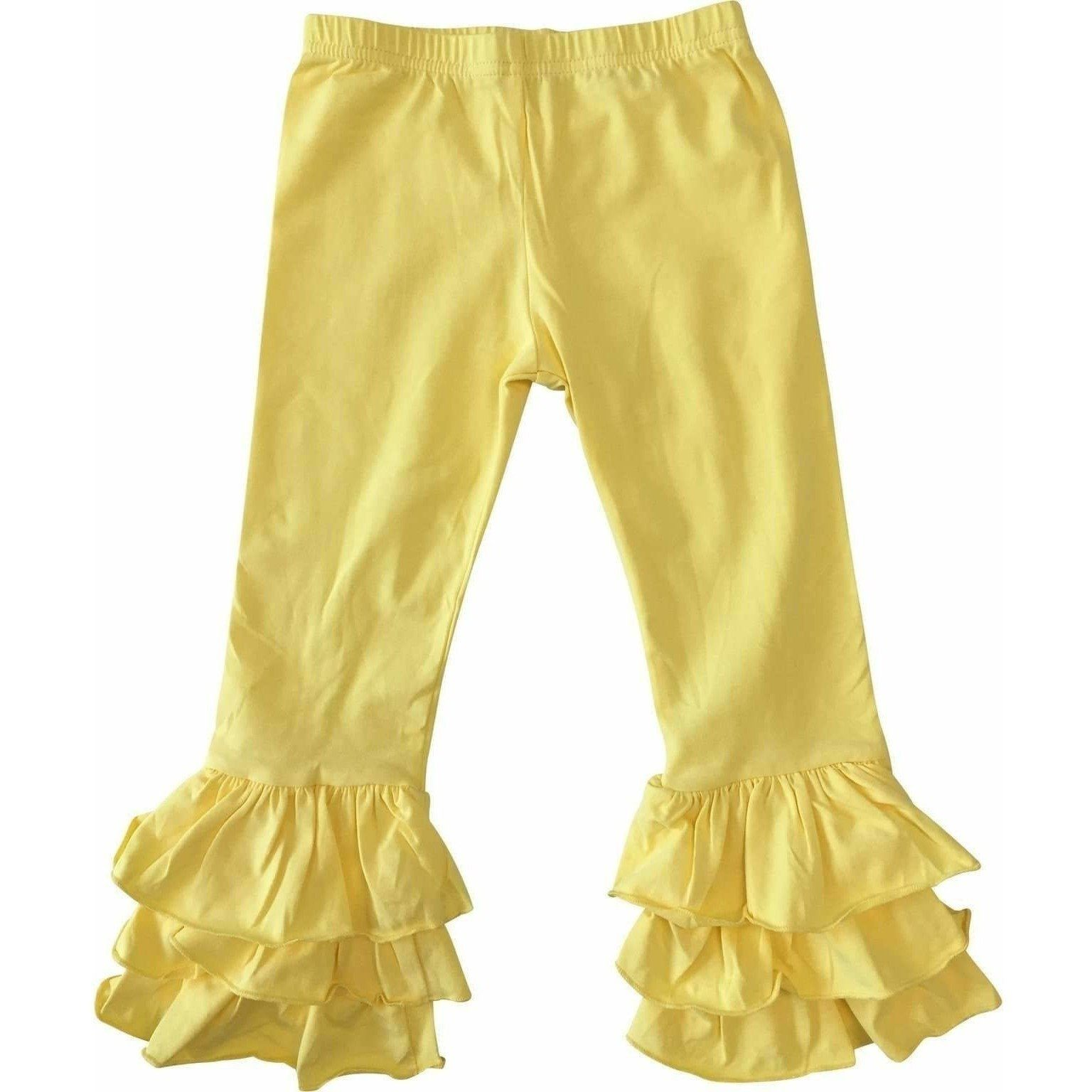 6M & 12M  Baby Triple Ruffle Pants - In Stock!!! - Adorable Essentials