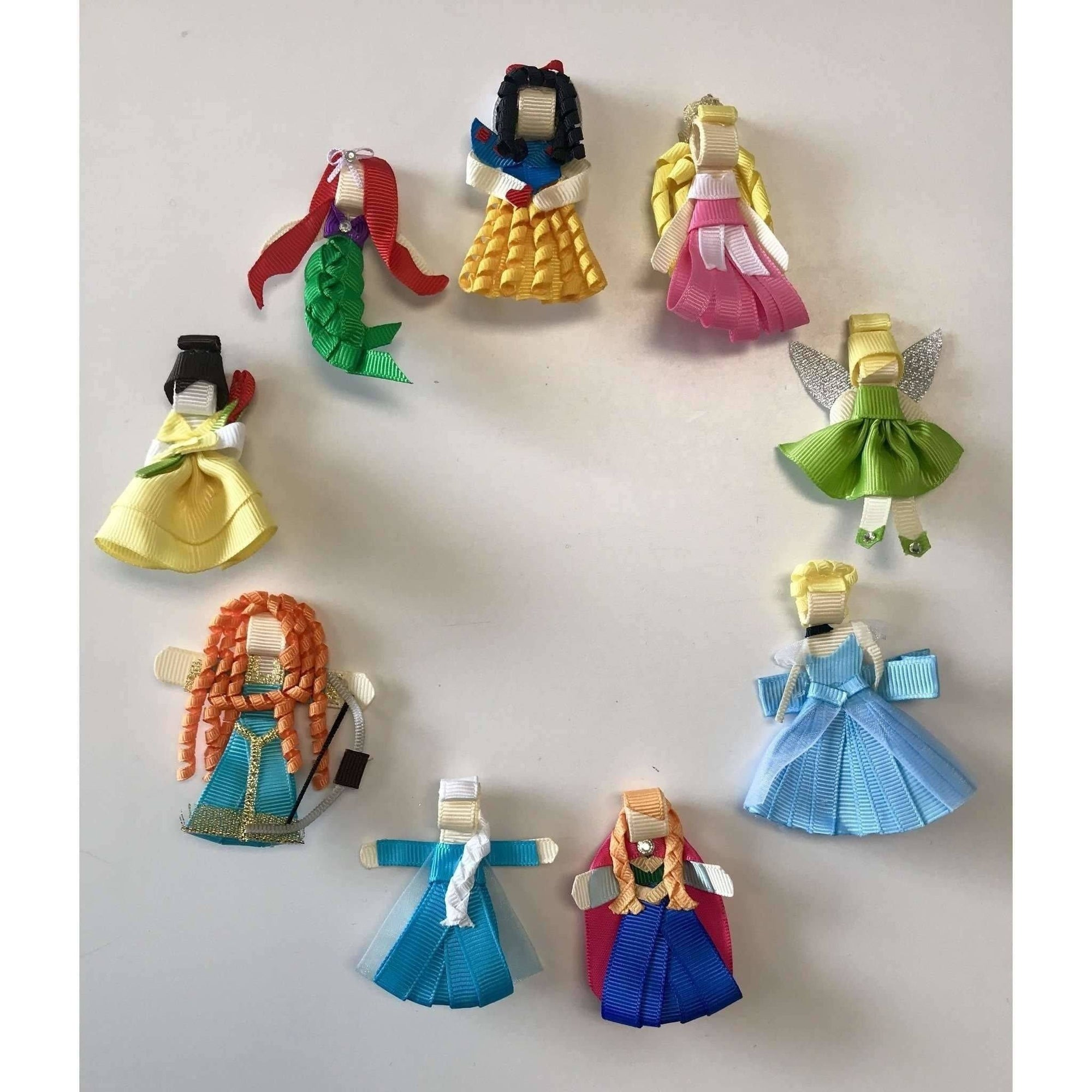 Disney Inspired Princess Hair Clips - Adorable Essentials