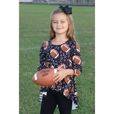 Adorable Essentials, Football Tunic,Tops,Adorable Essentials,Adorable Essentials, LLC
