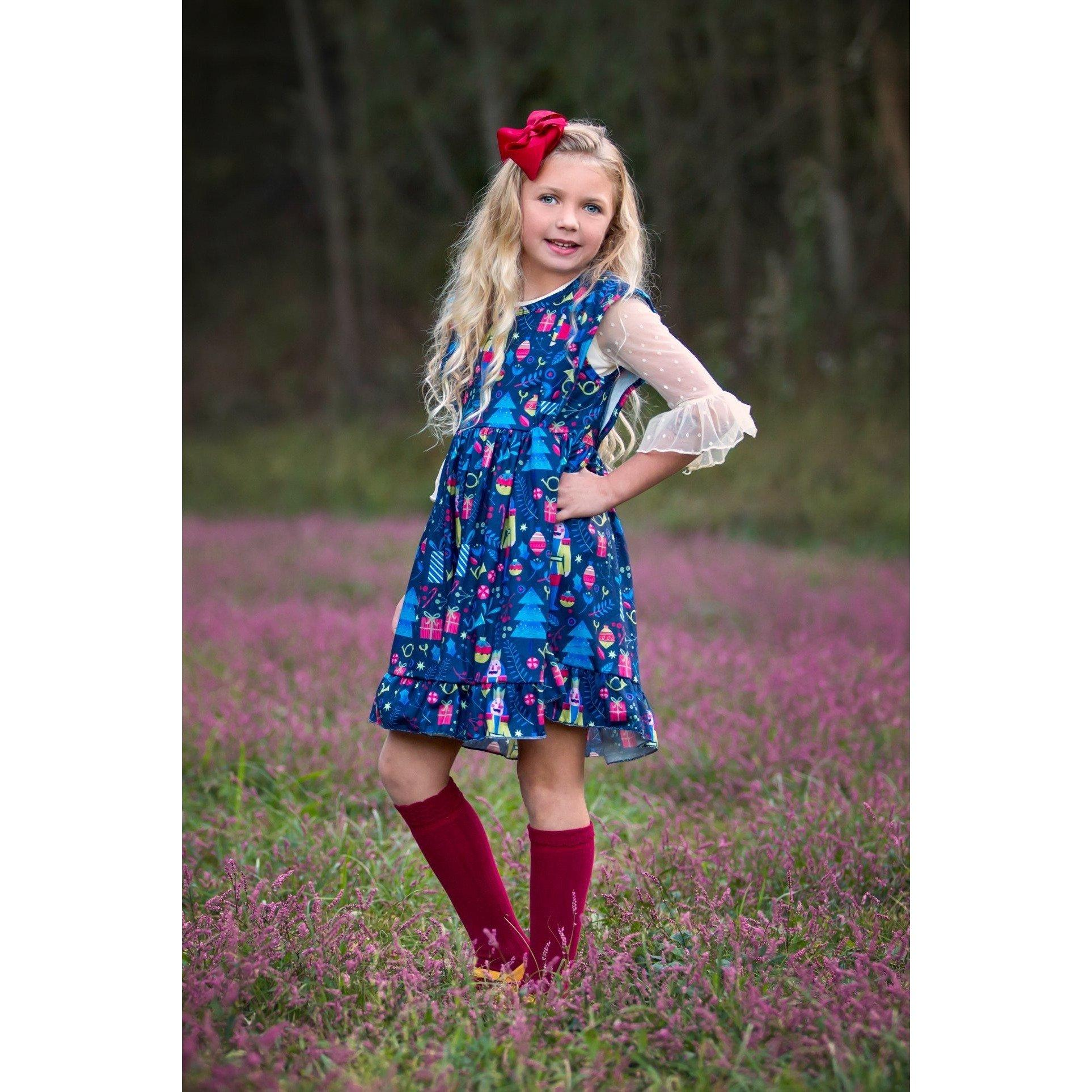 Midnight Nutcracker Dress -In Stock!!! - Adorable Essentials