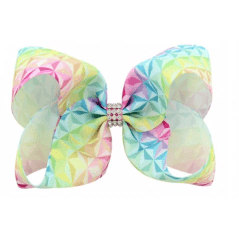 Pastels and Sparkle Individual Hair Bows - Adorable Essentials