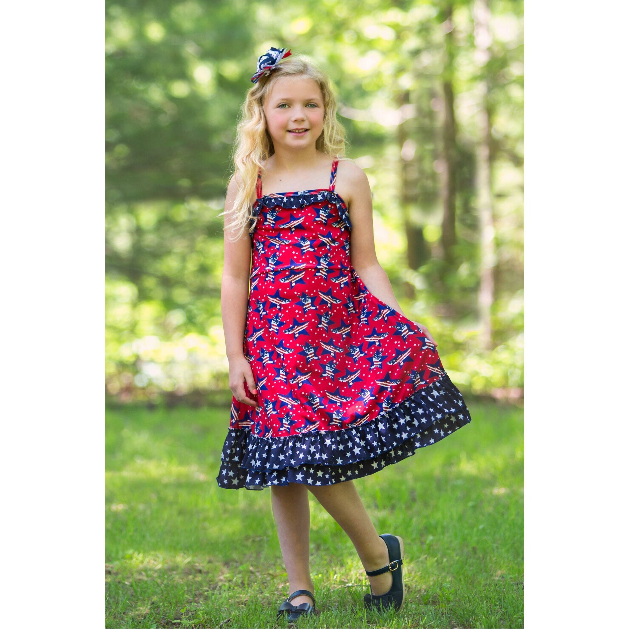 Adorable Essentials, Liberty Belle Jessa Dress,Dresses,Adorable Essentials, LLC