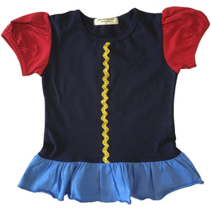 Apple Princess Shirt - Snow White Inspired/Playground Princess size 6m - Adorable Essentials