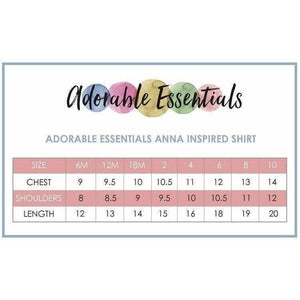 Red Head Princess Shirt- Frozen Anna Inspired/Playground Princess - Adorable Essentials