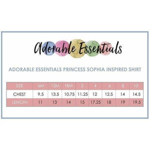 Sofia Inspired Shirt/Playground Princess - Adorable Essentials