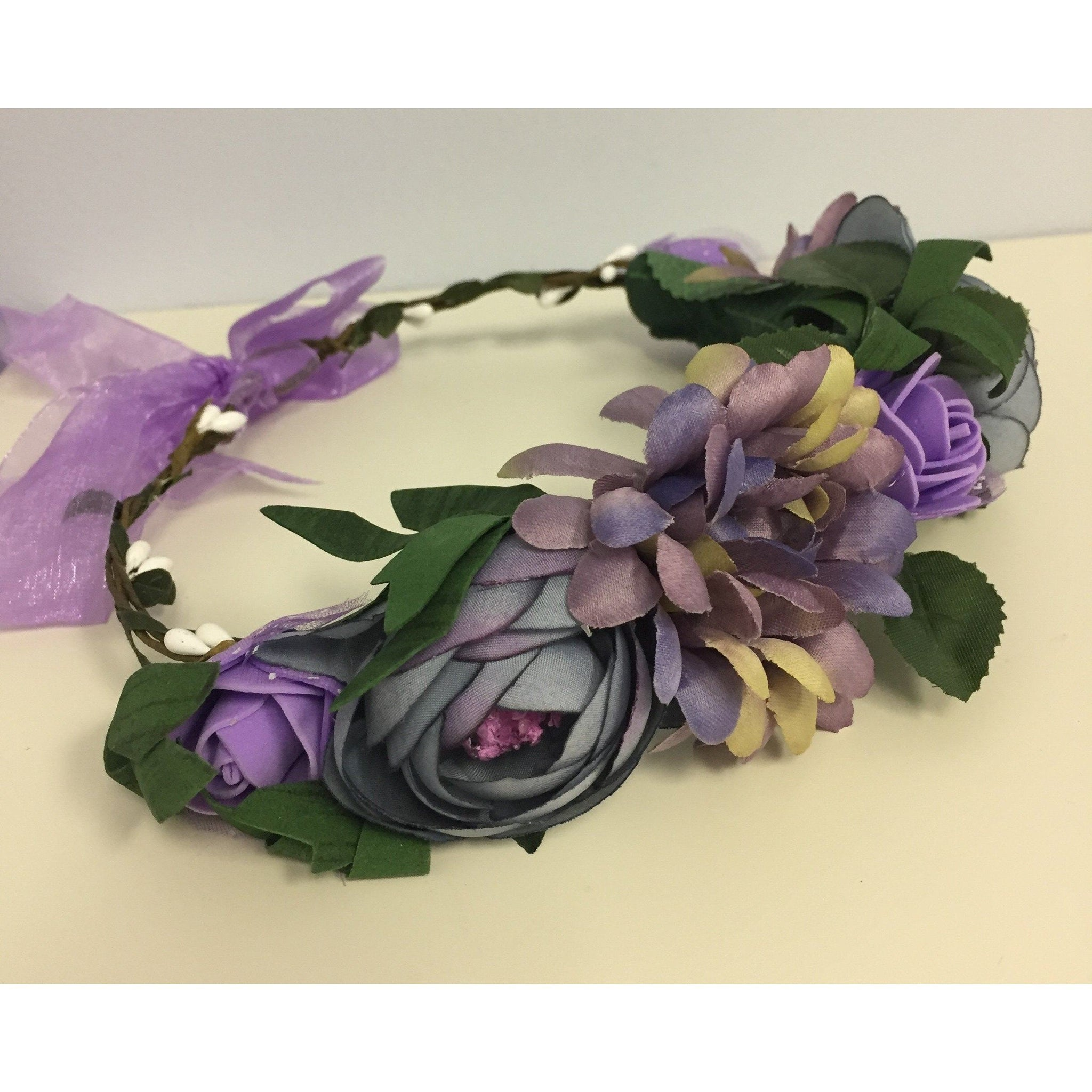 Adorable Essentials, Lilac Halo Headband,Accessories,Adorable Essentials, LLC