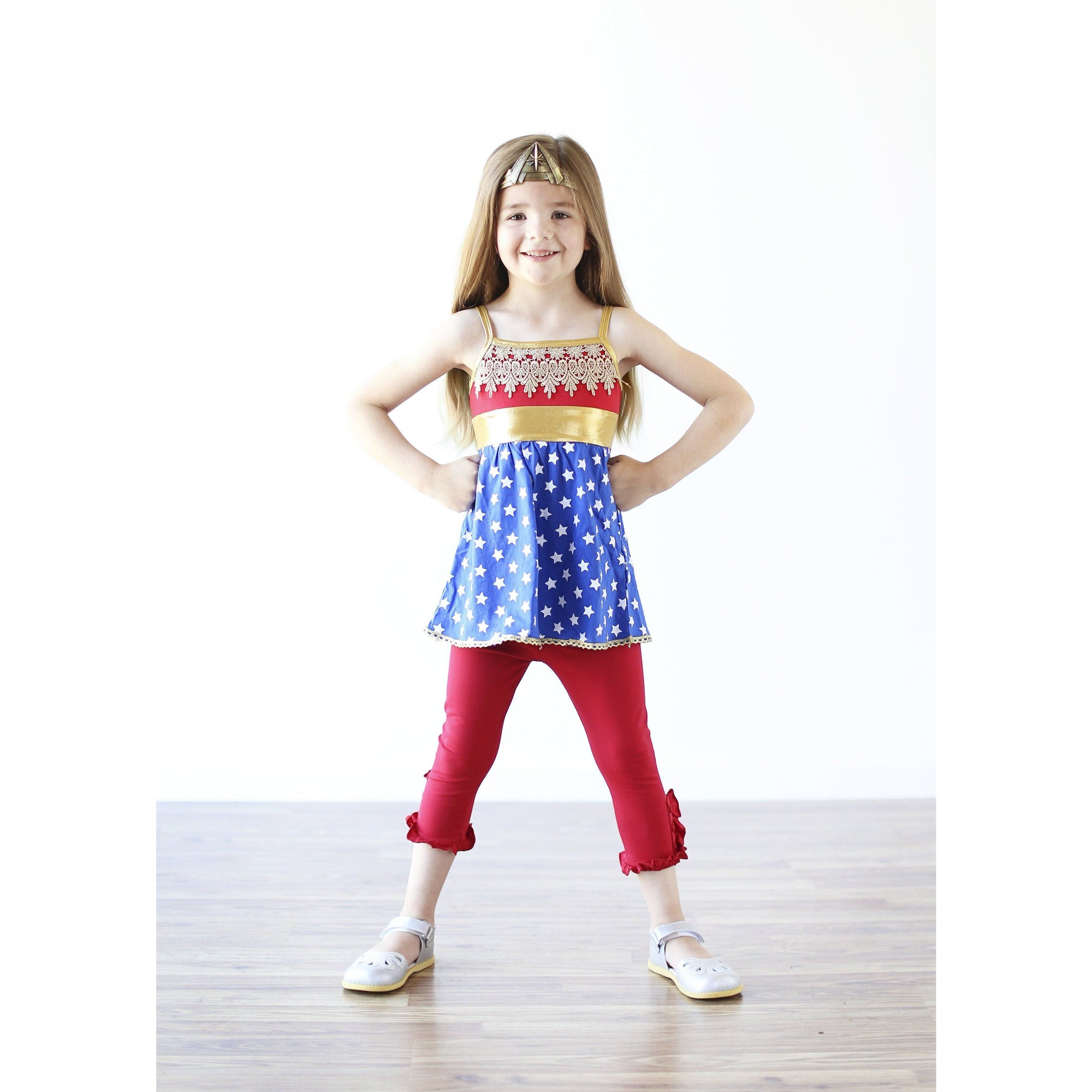 Wonder Woman Inspired / Playground Princess - Adorable Essentials