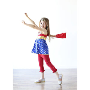 Wonder Woman Inspired / Playground Princess - Adorable Essentials, LLC