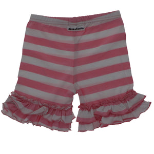 Pink Ruffle Shorties - Adorable Essentials, LLC