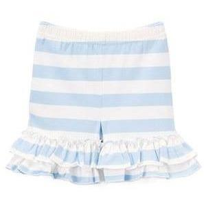 Blue & White Striped Shorties size 6m & 12m - Adorable Essentials