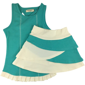 Tank and Tiered Bike Skort Sets - Adorable Essentials