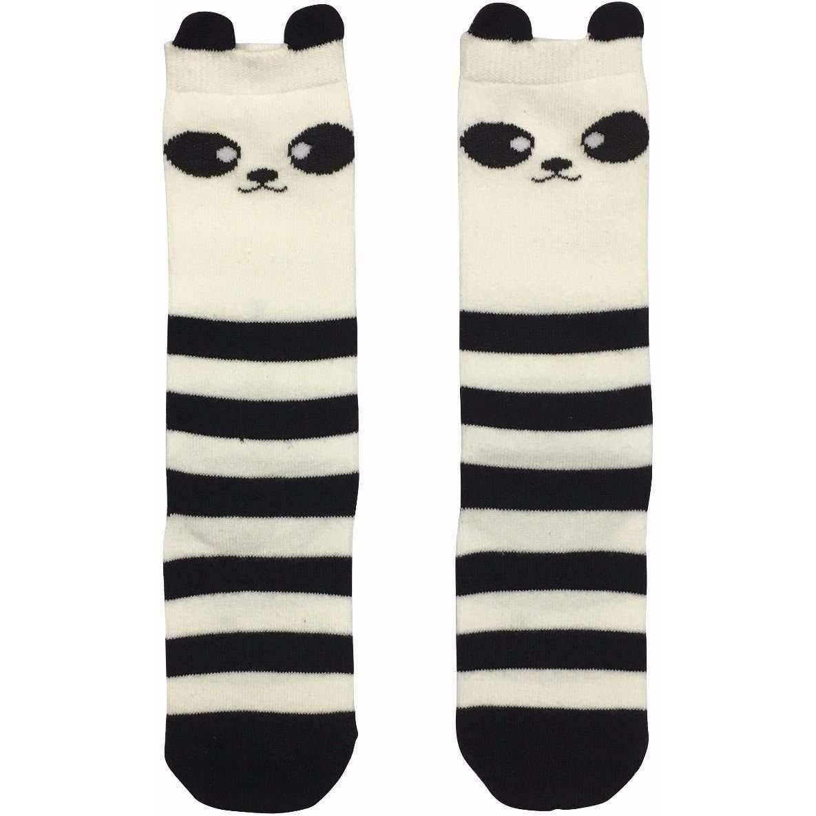 Adorable Essentials, Cat, Mouse and Panda Socks,socks & tights,Adorable Essentials, LLC
