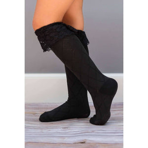 Lace Knee Socks - Adorable Essentials