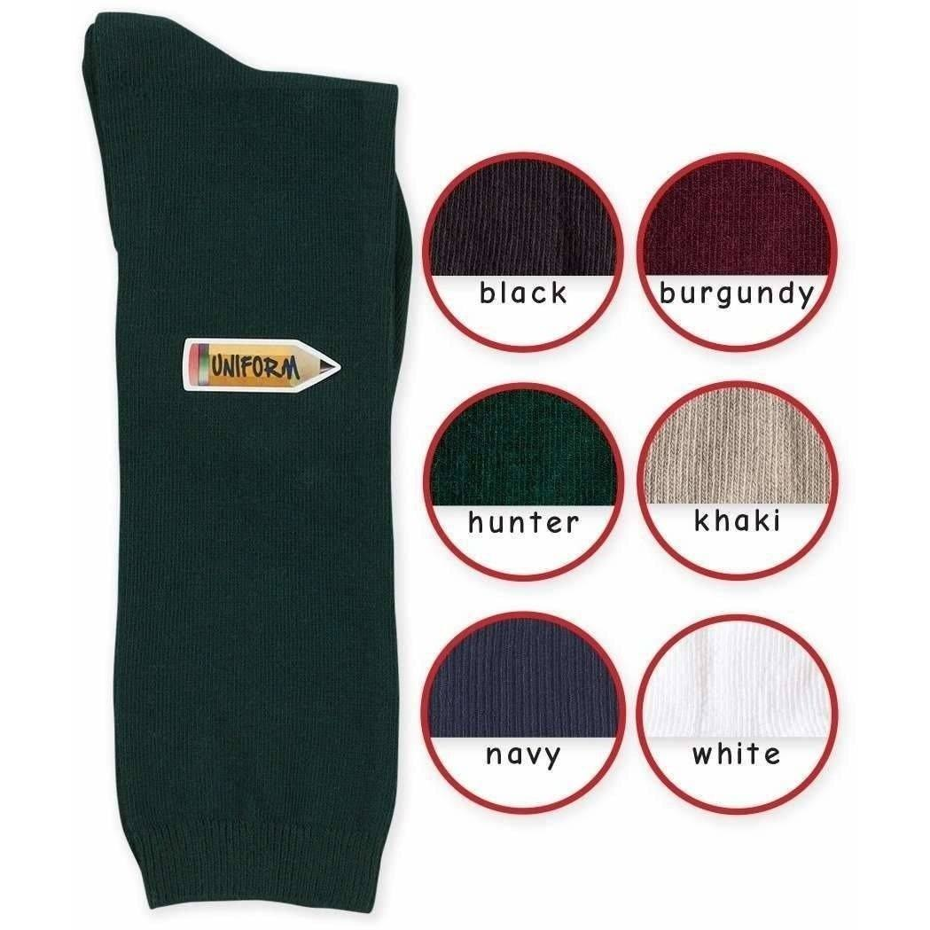 School Uniform Cotton Knee High Socks - Adorable Essentials