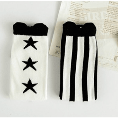 Stripes and More Knee High Socks - Adorable Essentials