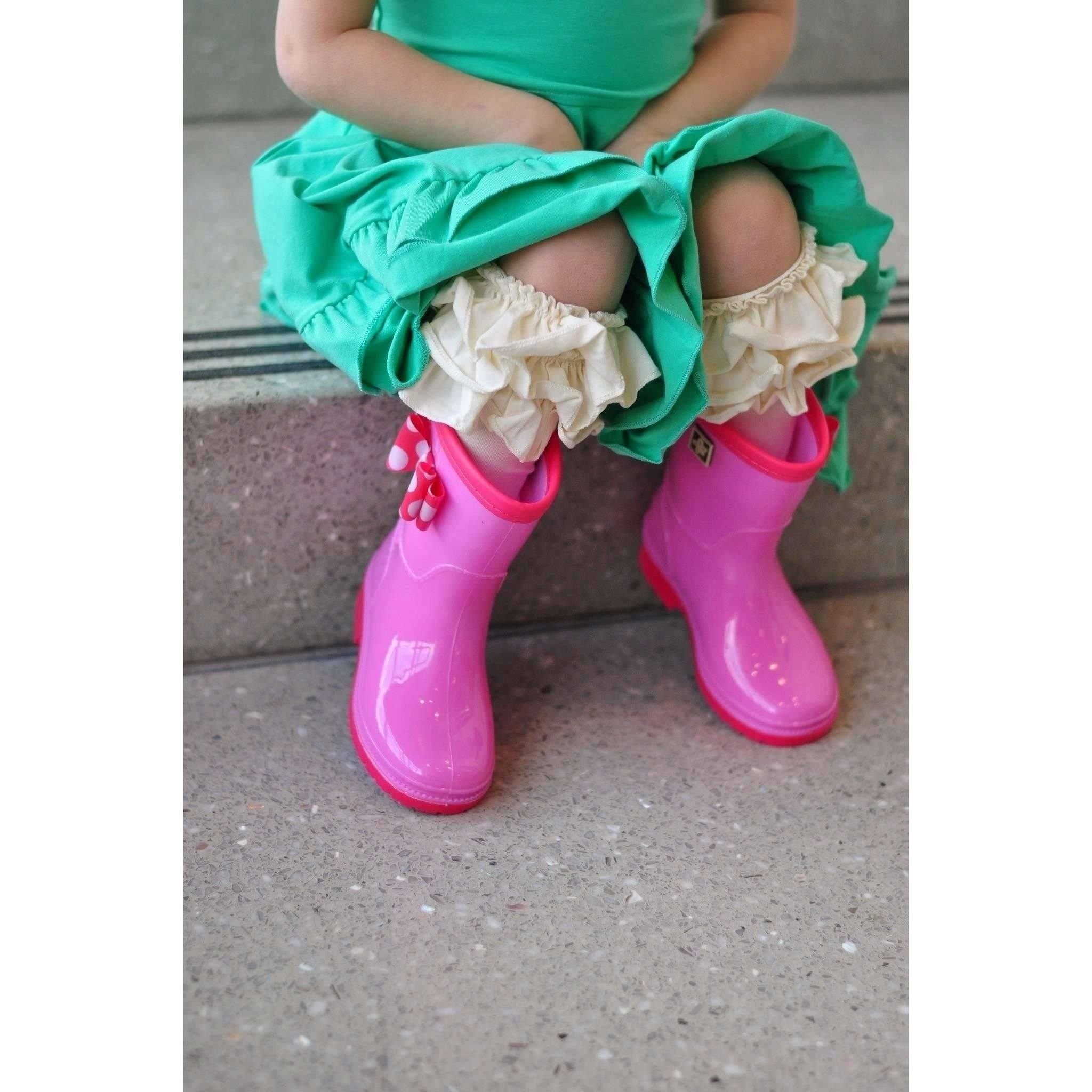 Adorable Essentials, Triple Ruffle Socks,socks & tights,Adorable Essentials, LLC