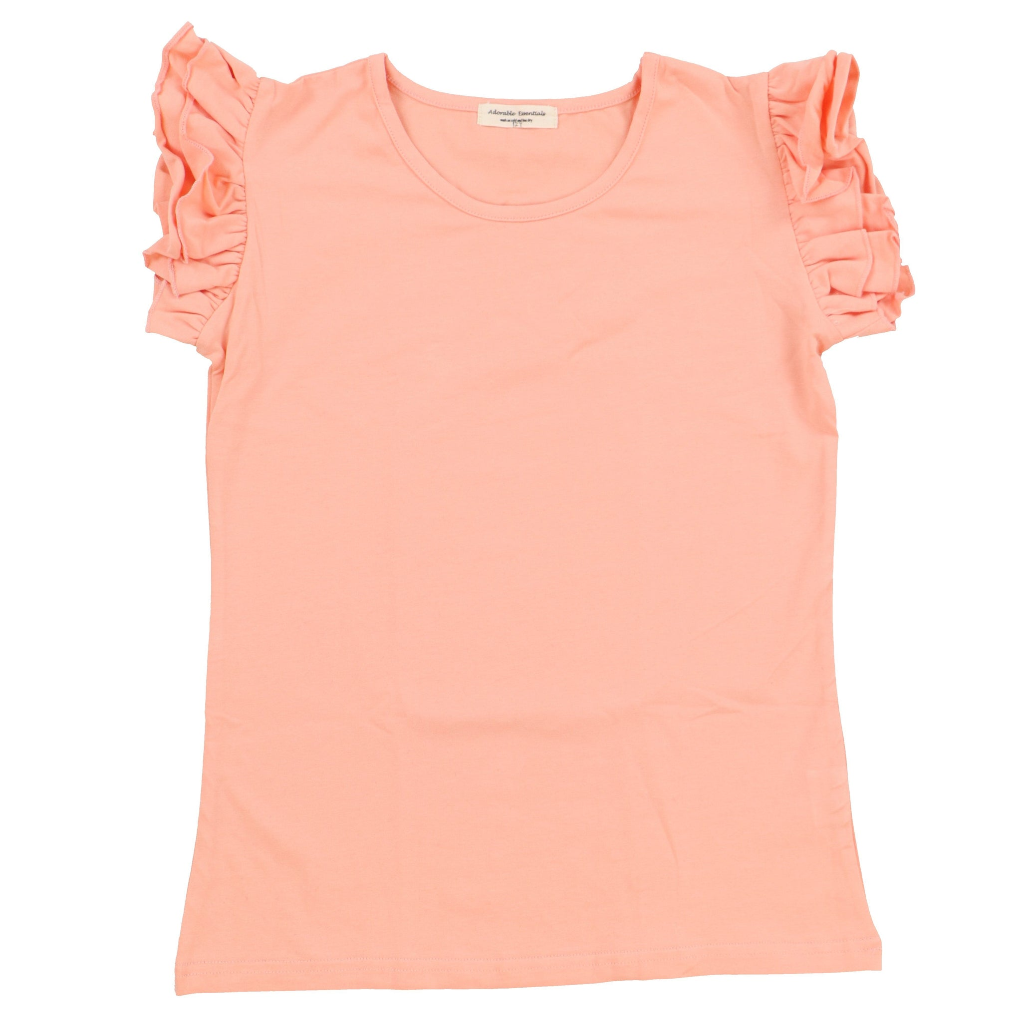Girls Ruffled Tank - Adorable Essentials