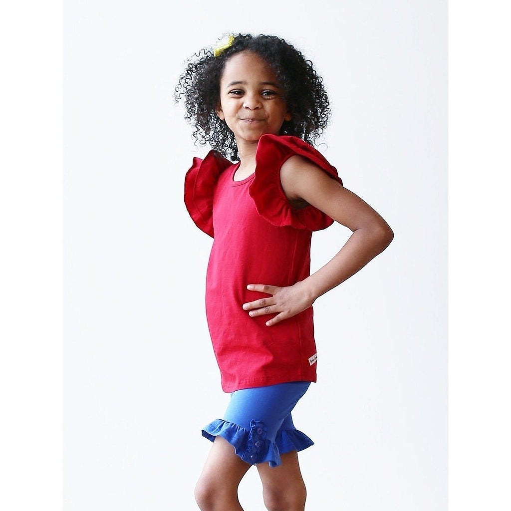 Adorable Essentials, Girls Ruffled Tank,Tops,Adorable Essentials,Adorable Essentials, LLC