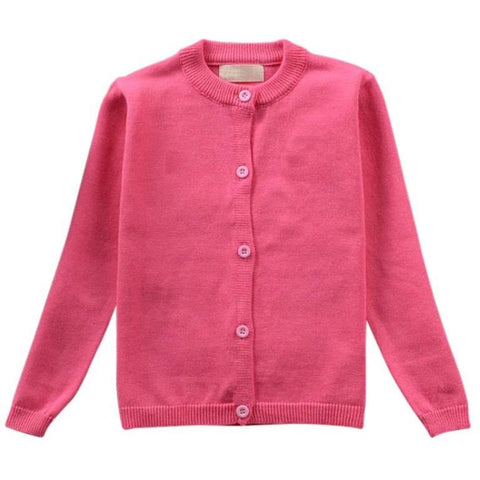 Adorable Essentials, Journey Cardigan - Hot Pink,Tops,Adorable Essentials,Adorable Essentials, LLC