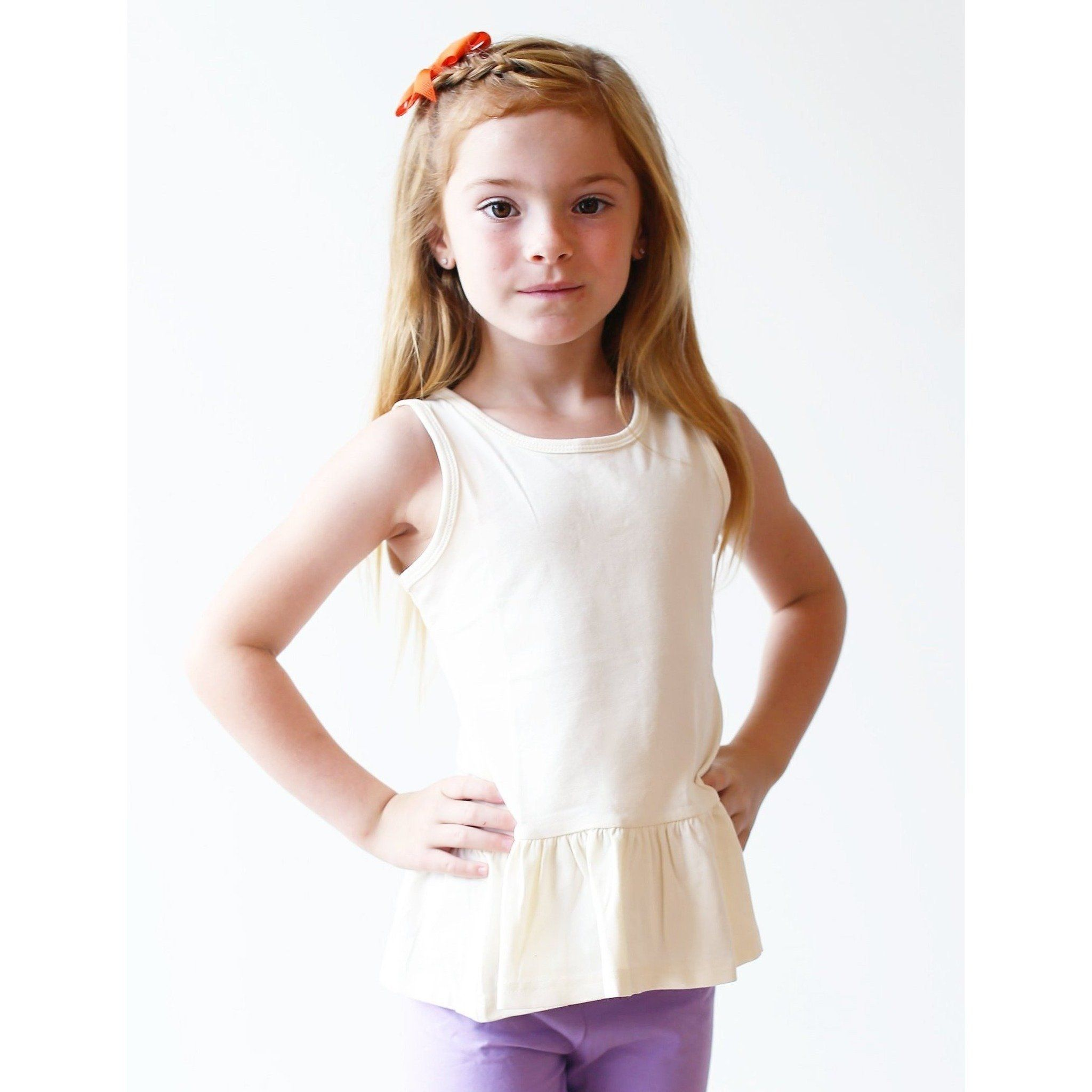 Peplum Tanks - Adorable Essentials