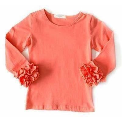 Adorable Essentials, Icing Ruffle Cuff Shirts - PreSale,Tops,Adorable Essentials, LLC