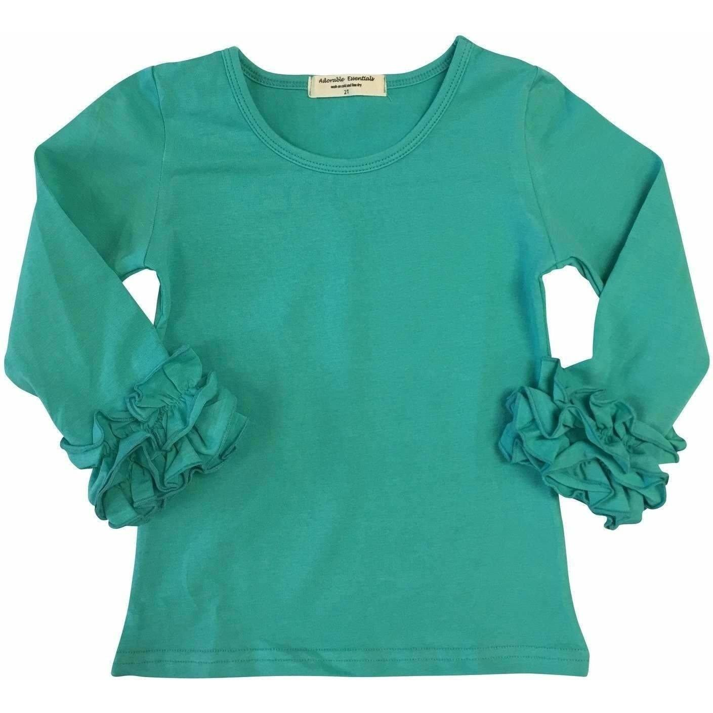 Icing Ruffle Cuff Shirts - In stock! - Adorable Essentials