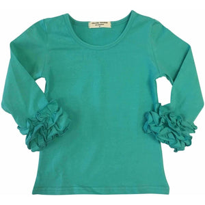 Icing Ruffle Cuff Shirt - Adorable Essentials