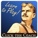 Click the Card Game Coach and learn how to play our Famous card games
