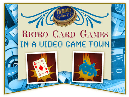 Video Reel: Retro Card Games in a Video Game Town