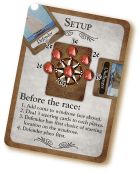 Sample Famous Games QuickStart Setup card