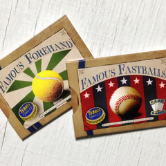 Easy card games - The Beginner Collection from Famous Games Co. - Baseball and Tennis (photo: box shot)