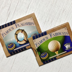 Mid-level card games - The Intermediate Collection from Famous Games Co. - Golf and Yacht Racing (photo: box shot)