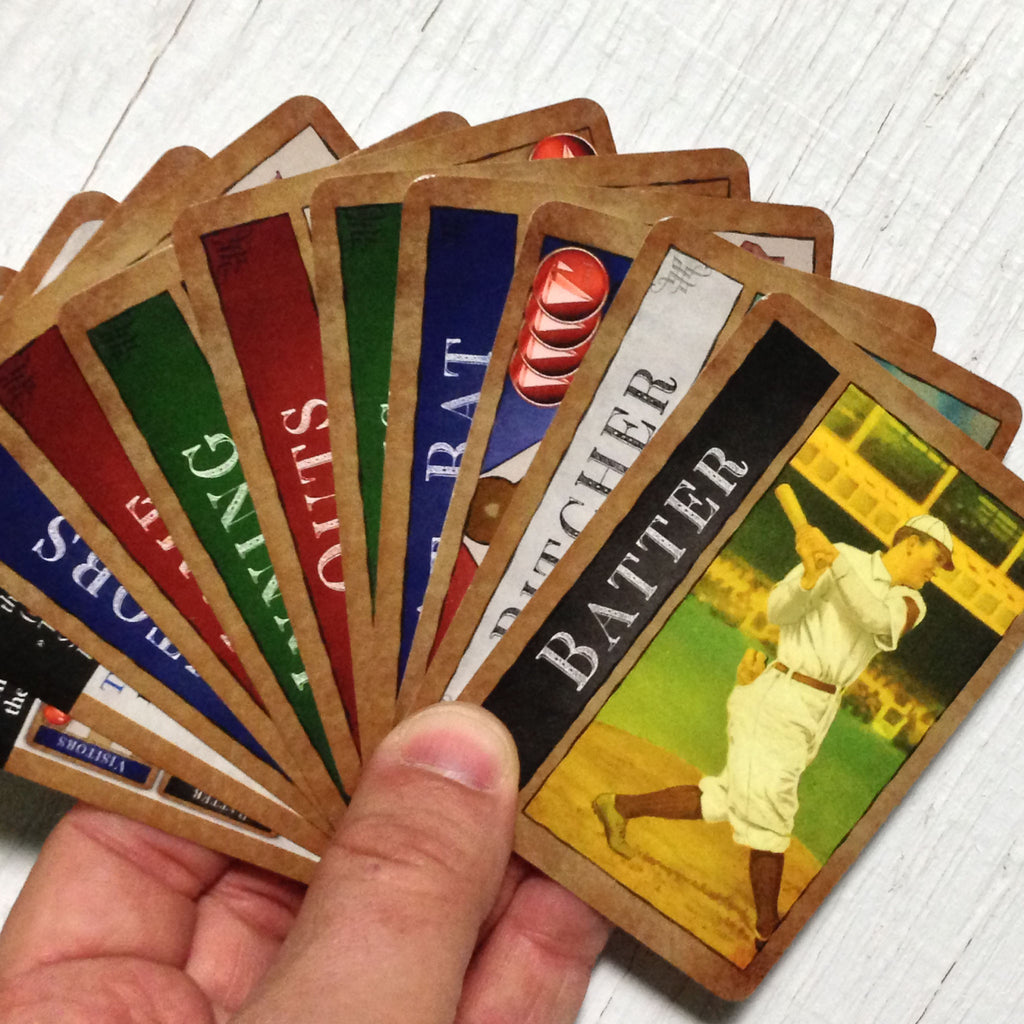 Baseball Card Game Famous Fastballs By Famous Games Co