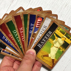 Two player baseball card game, Famous Fastballs (photo: card fan)