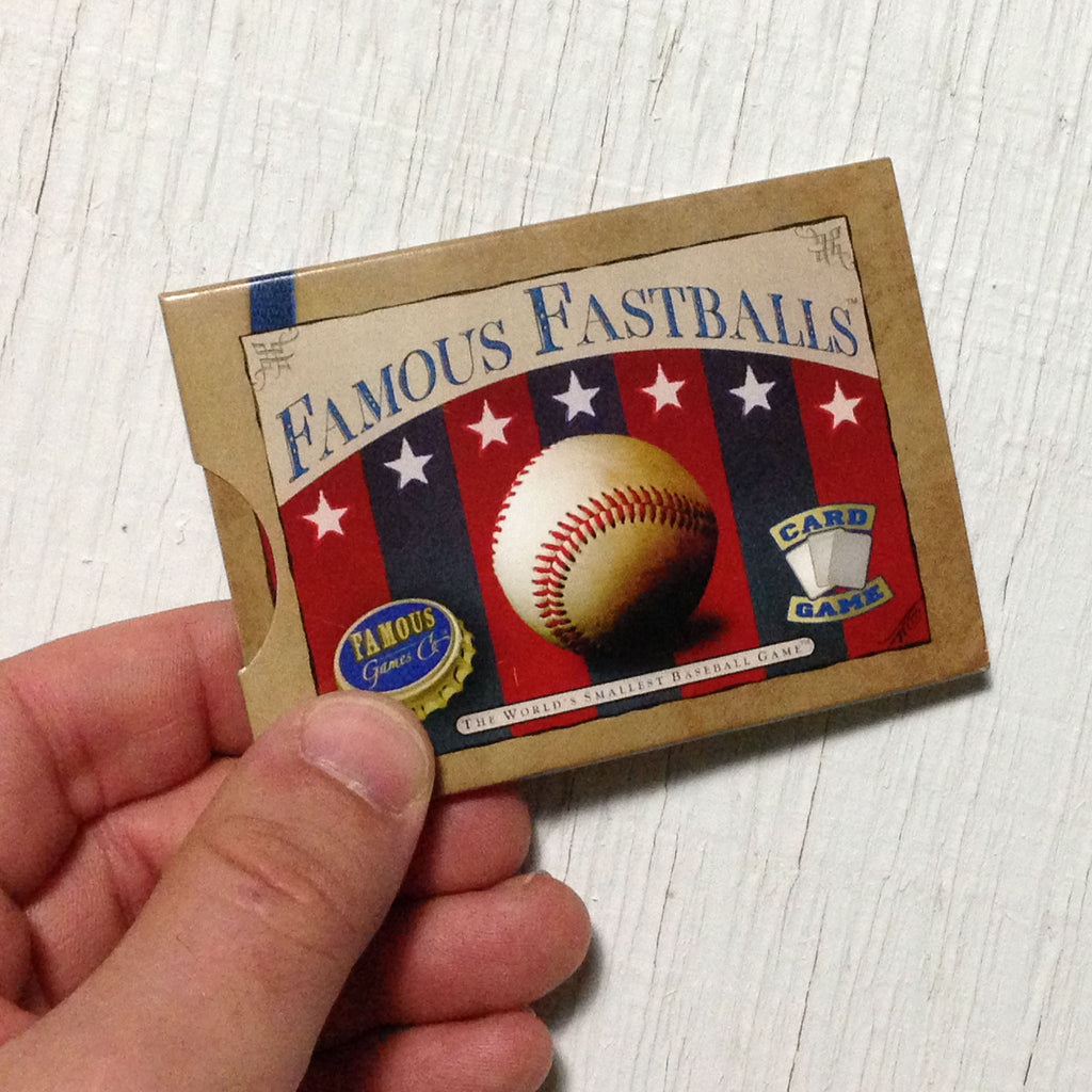 Famous Games Review 1 Famous Fastballs Board Game Reviews By Josh