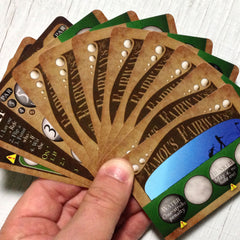 Two player golf card game, Famous Fairways (photo: card fan)