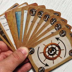 Two player yacht racing card game, Famous Flagships (photo: card fan)