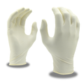 Cordova Silver Latex Gloves - Industrial Grade, Powder-Free, Textured - 100/box