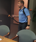 Cordless Backpack Disinfectant Fogger