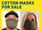 Uneeda Cloth Face Masks - Washable