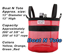 Mesh Tote Bag for Anchor Rope, Rode