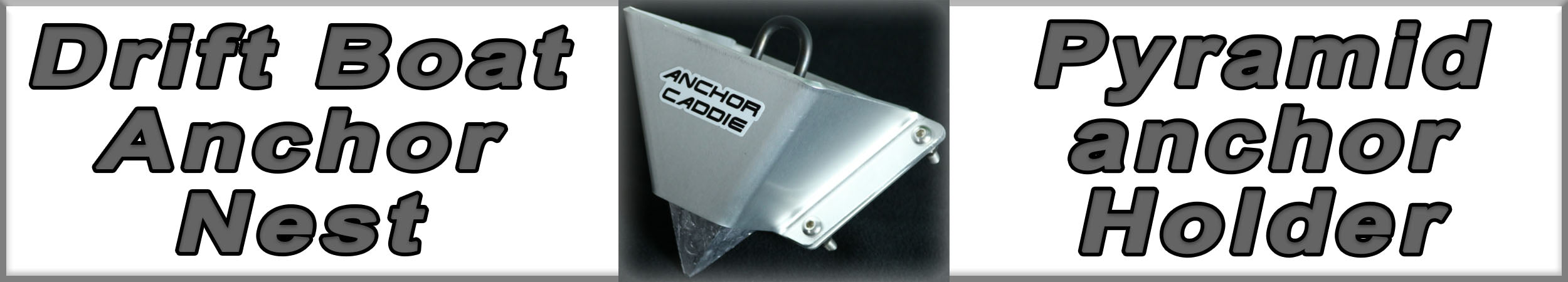 Drift Boat Anchor Nest or Pyramid Anchor Holder