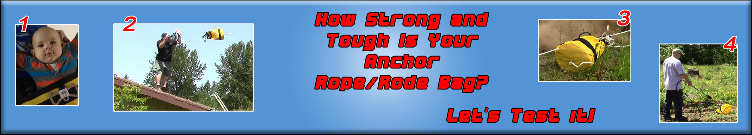 How strong is the best anchor rope bag